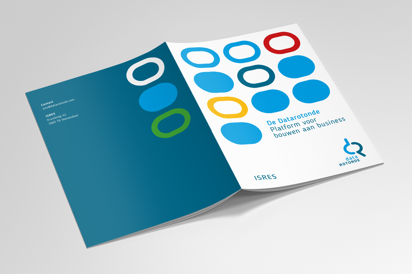 Ontwerp brochure Datarotonde